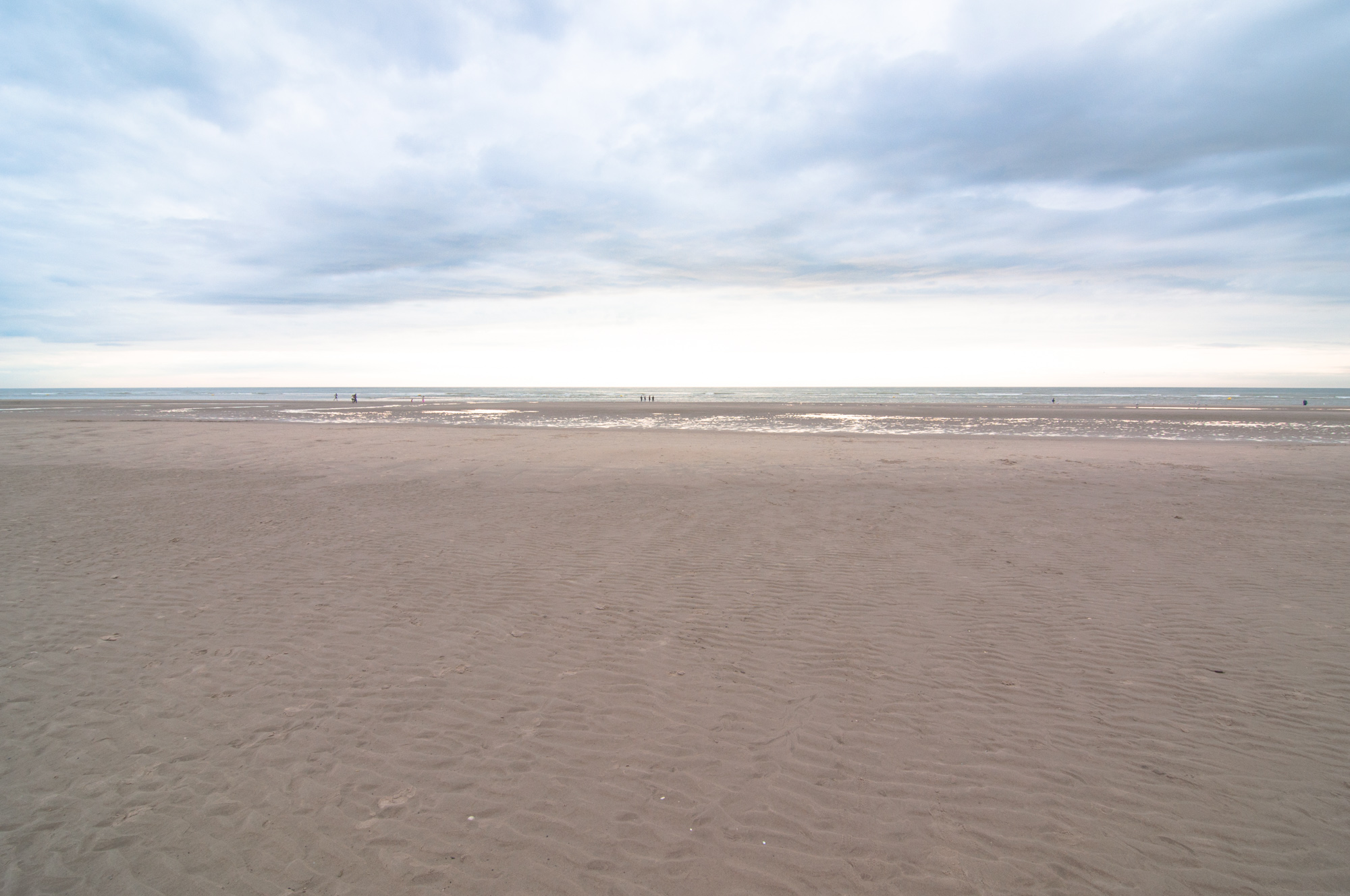 Sand beaches of Le Touquet (at 55 min.)