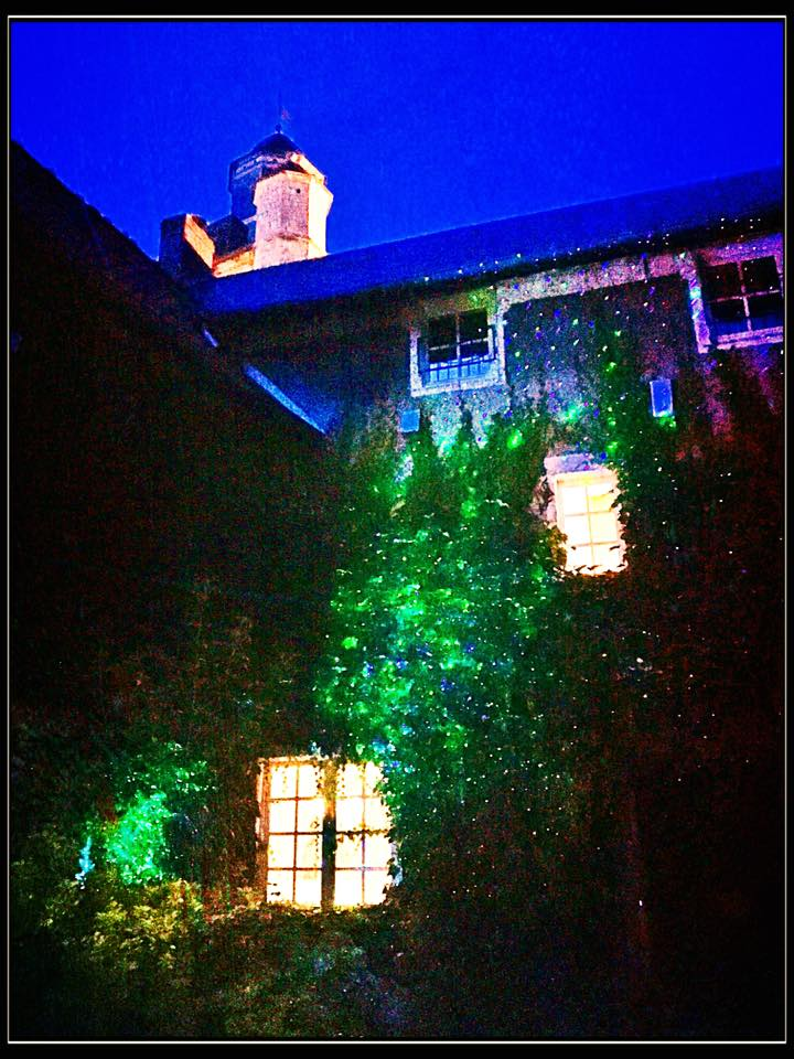 Inner courtyard lights